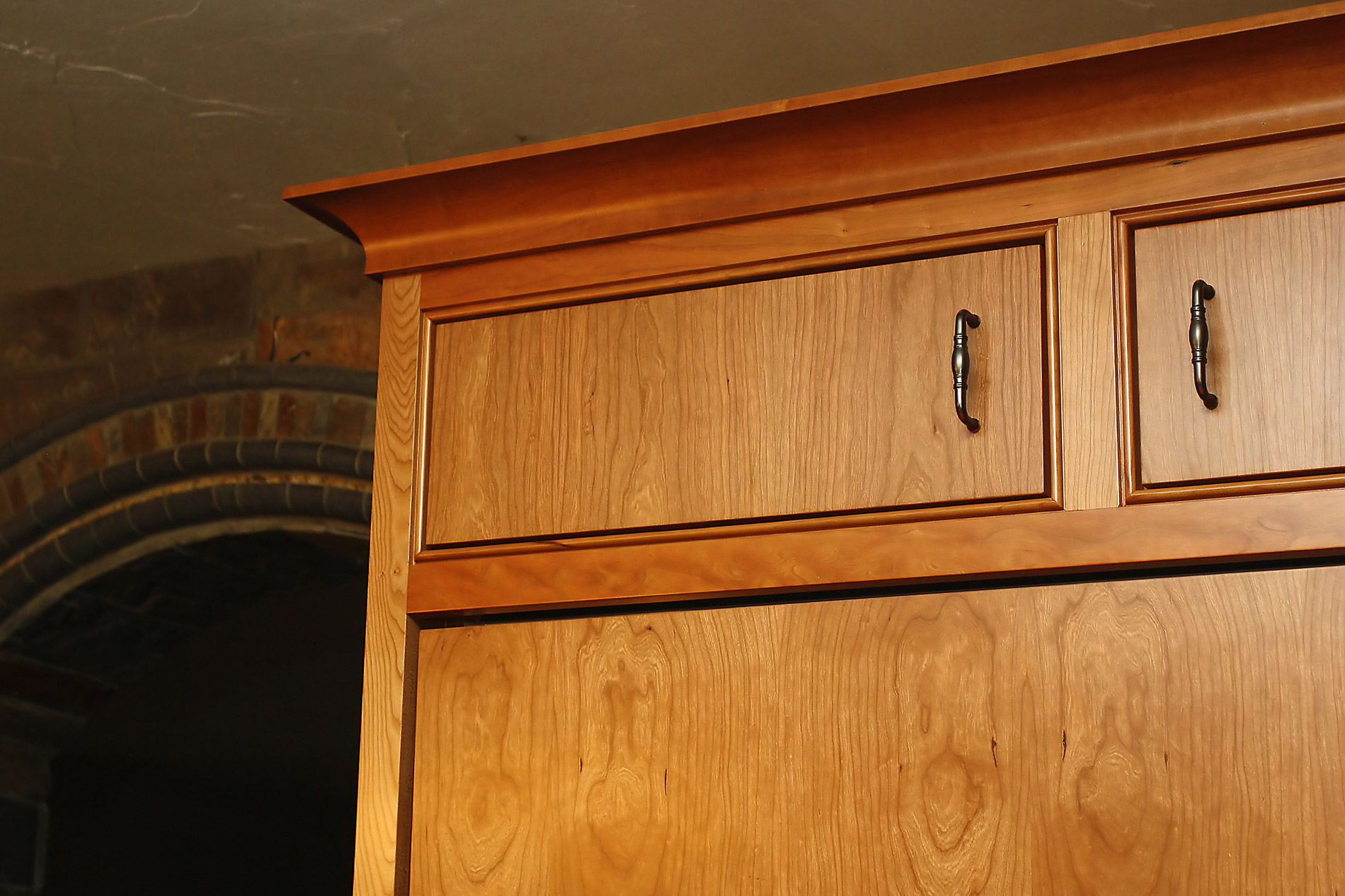Asheville Kitchen Cabinets - Cherry Custom Cabinets with ...